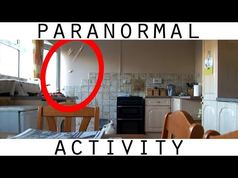 Paranormal Activity Caught on Tape Part 2