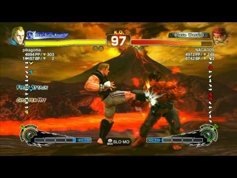 SSF4 AE 2012: Nagao (Evil Ryu) vs pikagoma (Abel) - Xbox Live Ranked Matches