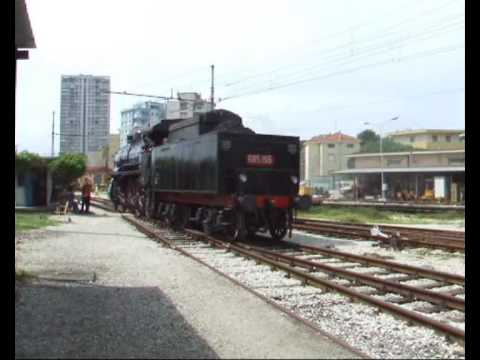 La locomotiva a vapore 685 196 di Rimini