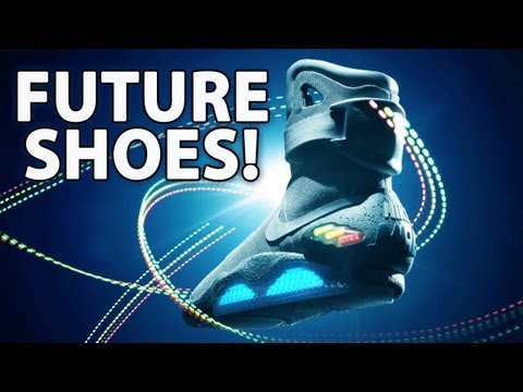 Buy Marty McFly-s Back To The Future NIKE Shoes!