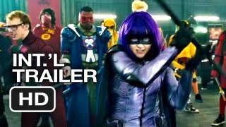 Kick-Ass 2 Official International Trailer (2013) - Chloe Moretz Movie HD