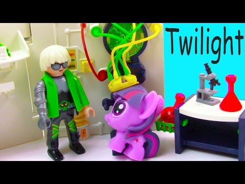 MLP Fashem's Twilight Mad Scientist Lab Unicorn Magic My Little Pony Pinkie Pie Video