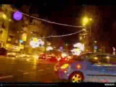 VIDEOCLIP Bucuresti, Trafic si lumini de sarbatoare