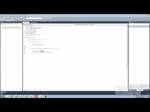 C# Beginners Tutorial - 4 - Variables
