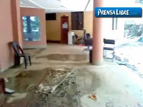 Desborde del Motagua inunda Quiriguá