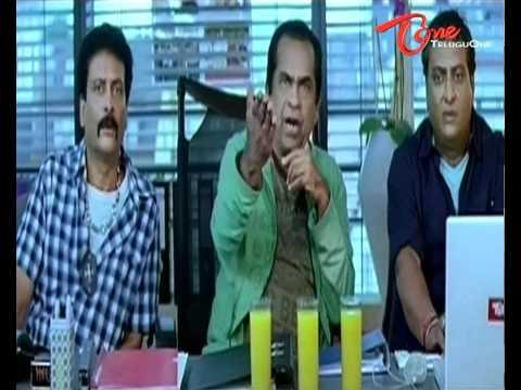 Venkatesh's reverse punch to Brahmanandam
