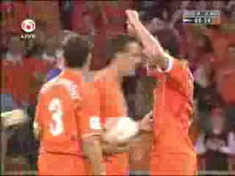 Funny Goal by Nistelrooy