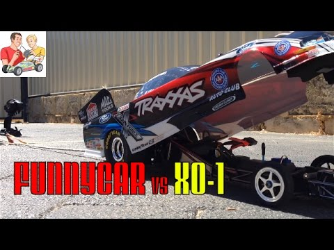 XO-1 vs Courtney Force Funny Car Tug of War #IRL - UCFORGItDtqazH7OcBhZdhyg