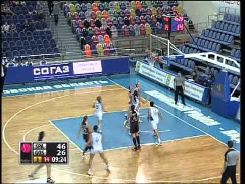 Basketball. Euroleague Women 2012. Sparta&K Vidnoje - Gospic