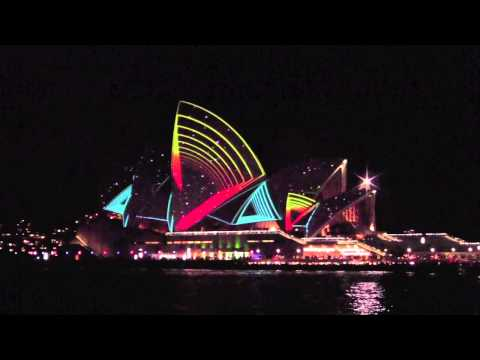 Sydney Opera House Vivid Lighting Festival 2011