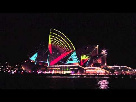 Sydney Opera House Vivid Lighting Festival 2011