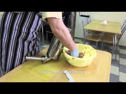 Сосиски домашние. Приготовление фарша на куттере - UCGWBqP95JA7YiLchlY5rRIg