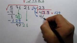 Raíz cuadrada entera (Parte 1 de 2) Square Root