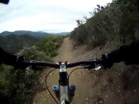 Mountain Biking Gridley Trail, Ojai, CA  (**part 1**)