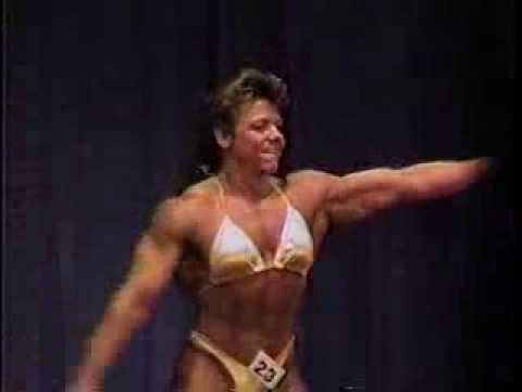 Largest Muscle Woman Cindy Blaze, FBB Champion