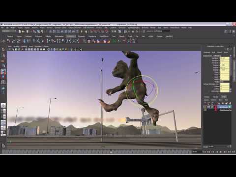 Maya Tutorial: General Animation Overview