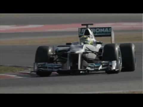 2012 MERCEDES AMG PETRONAS F1 W03 & 2012 New Regulations Formula 1