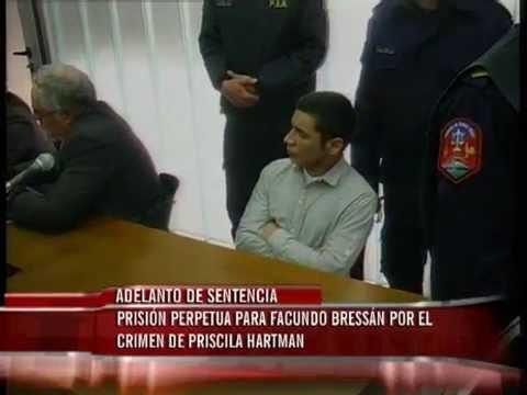 Prisión perpetua para Facundo Bressán por el crimen de Priscila Hartman