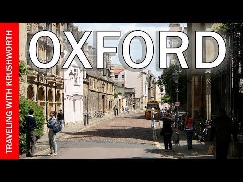 Oxford, England: Visit England Travel Series - Travel Video (HD) - Oxford Tourism Travel Guide