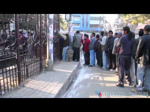 काठमाडौंको मैतीदेवीमा मतदान कार्य