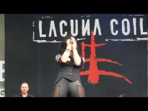 Lacuna Coil - Heaven's A Lie Live at Tuborg Greenfest 2012 in Bucharest, Romania
