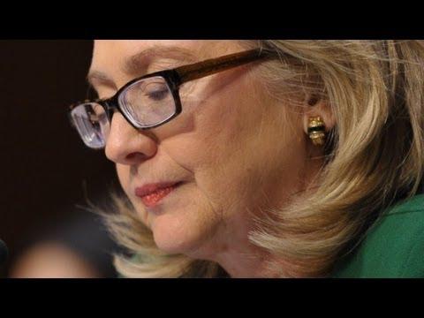 Clinton tears up at Benghazi hearing