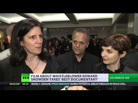 And the Oscar goes to Edward (Snowden Snowden) documentary CitizenFour wins award