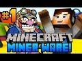 Minecraft MINERWARE - CRAZY Mini Games w/ Ali-A #1 -