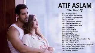 ATIF ASLAM New HIts Songs 2019 - Best Of Atif Aslam Playlist 2019  Latest ROmantic Hindi SOngs