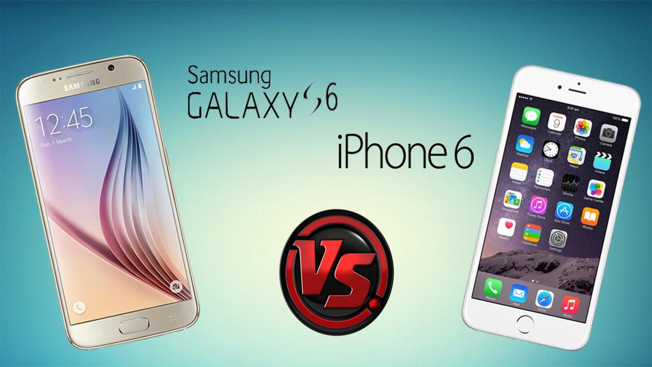 Samsung Galaxy S6 vs iPhone 6 | Comparativa en Español