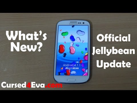 Samsung Galaxy S3 Jelly Bean Official Update - Features - What's new - Cursed4Eva.com