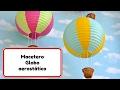 Room Decor Ideas #5 Globo aerostatico macetero