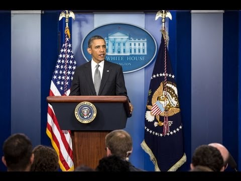 President Obama Speaks on Attacks in Boston  4/16/13  (white house)