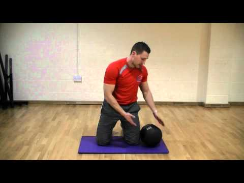 Medicine Ball core exercise that you can do from home