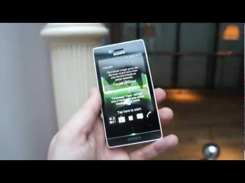 Sony Xperia Miro Hands-On