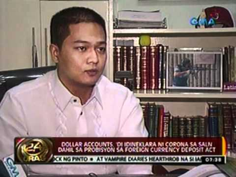 24 Oras: Foreign Currency Deposit Act, dapat na raw amyendahan