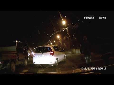 Авария в Хабаровске