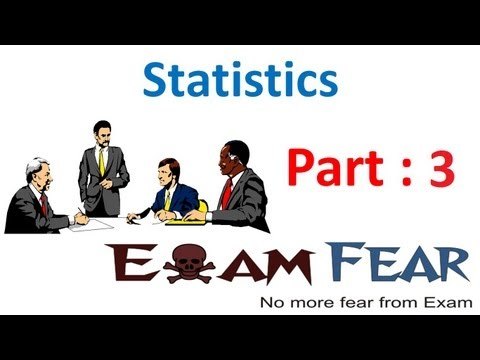 Maths Statistics part 3 (Mean of Grouped Data) CBSE class 10 Mathematics X
