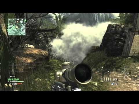 CALL OF DUTY: Sniper Montage 1 - SGT-SHADOOW - (NON EDITED)