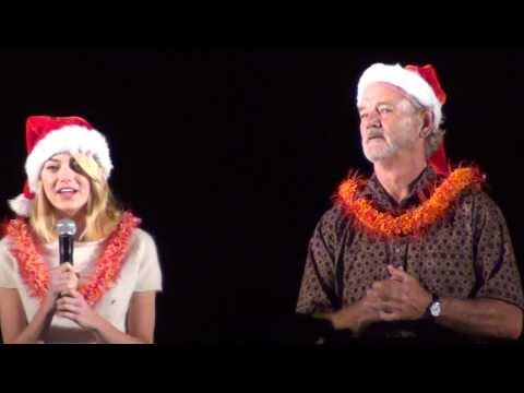 Emma Stone and Bill Murray Surprise Joint Base Pearl Harbor-Hickam Tower Lighting