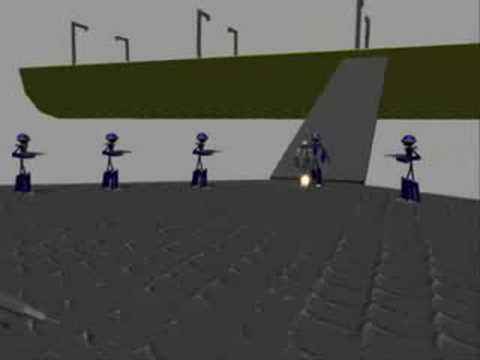 "Old High School 3d animation - ""Viral"""