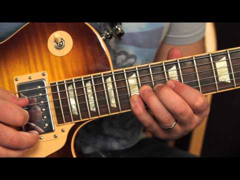 Guns n Roses - Knocking on Heaven's Door - How to Play Slash's 2nd Guitar Solo Lesson