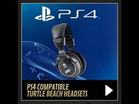 How to Hook Up Turtle Beaches to your PS4
