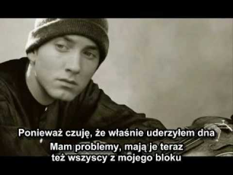 Eminem- Rock Bottom ( NAPISY PO POLSKU !!! )
