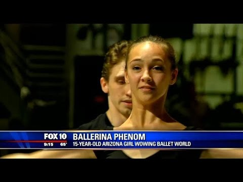 15-year-old Arizona girl wows the ballet world
