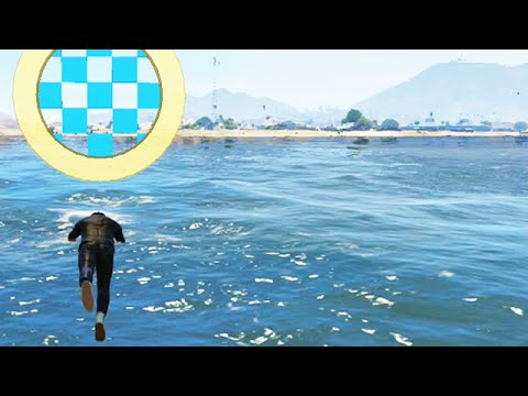 Insane Finish Dive (GTA 5 Funny Moments)