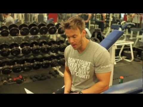 Seated Dumbbell Curls - Rob Riches