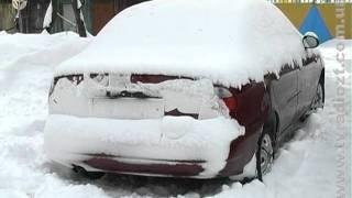 Житомиряне возмущены никчемной уборкой снега в Житомире
