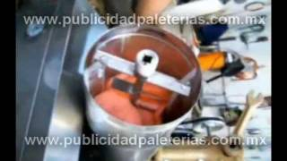 Maquinaria para fabricación de helados y paletas de hielo, México, Nieve de garrafa