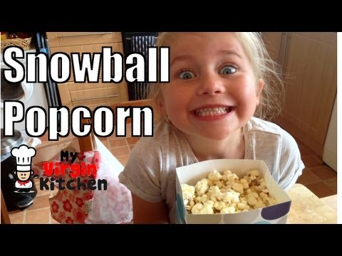 Snowball Popcorn Recipe   MYVIRGINKITCHEN